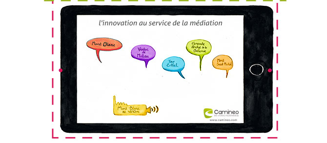 Camineo, l'innovation au service de la médiation